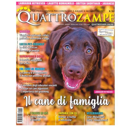 Immagine di QUATTROZAMPE - 2019/10 ARRETRATO Italia