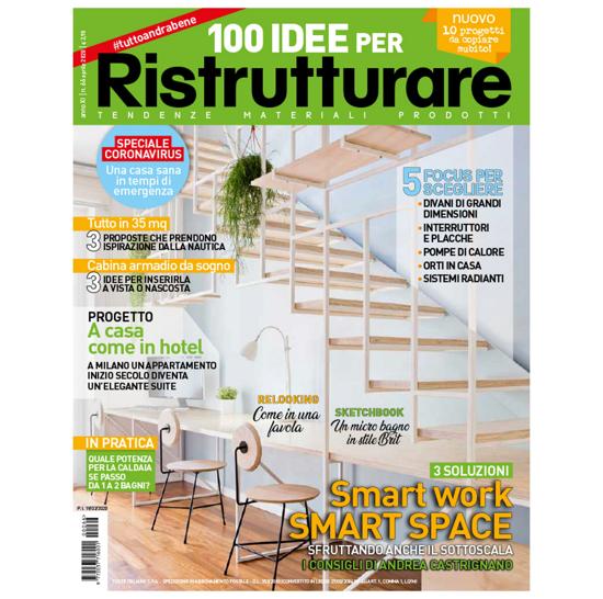 Immagine di 100 IDEE PER RISTRUTTURARE - ARRETRATO 2020/04 Italia