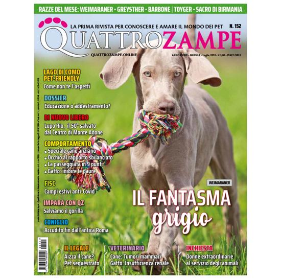 Immagine di QUATTROZAMPE - 2020/07 ARRETRATO Italia